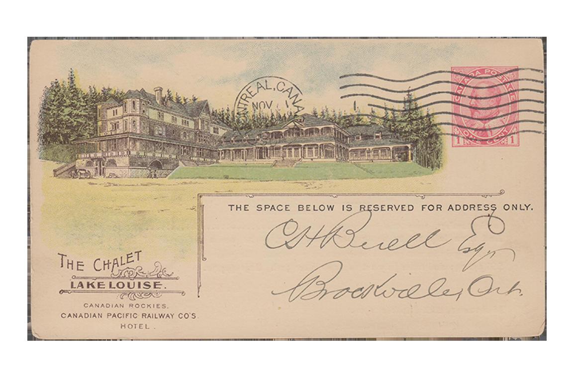 CP Rail - Railway Post Card (CPR36b)