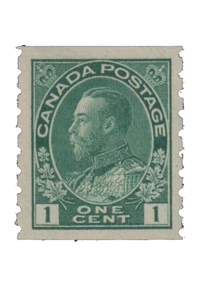 1c Green Vertical Perforations