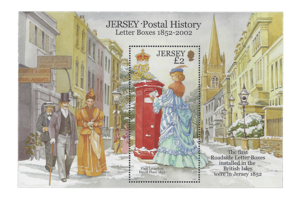 Letter Boxes - 150th Anniversary
